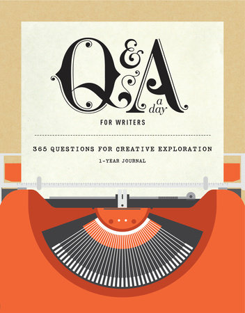 Q&A a Day for Writers by Potter Gift