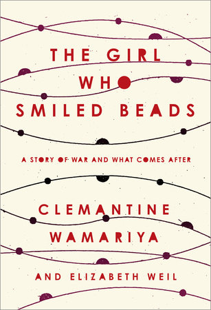 The cover of the book The Girl Who Smiled Beads