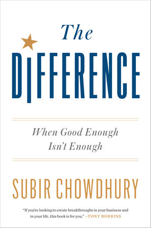 The cover of the book The Difference