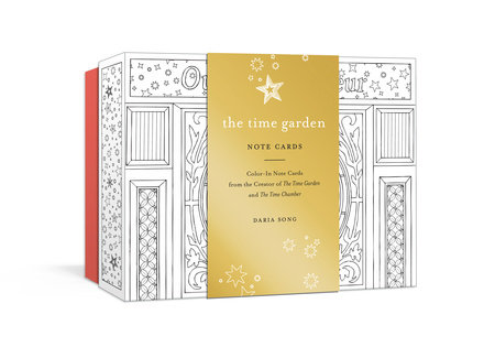 The Time Garden Note Cards by Daria Song