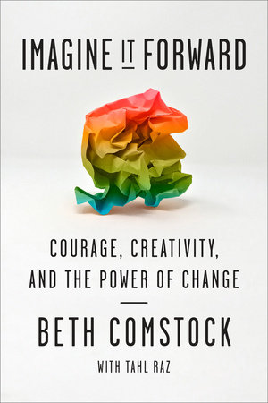 The cover of the book Imagine It Forward