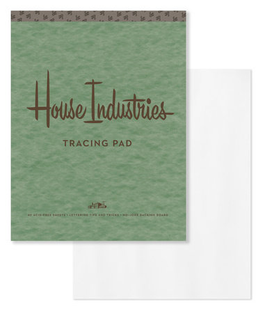 House Industries Tracing Pad by House Industries