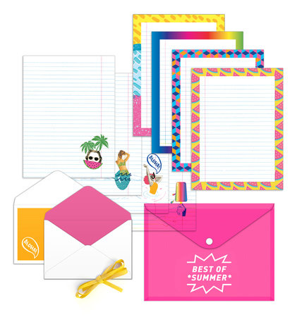 Best of Summer Stationery by Potter Gift