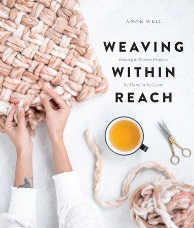 The cover of the book Weaving Within Reach