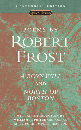 The cover of the book Poems by Robert Frost