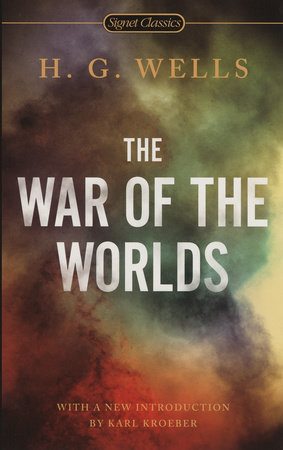 The cover of the book The War of the Worlds
