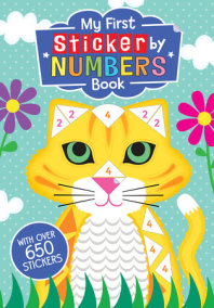 My First Sticker by Numbers Book