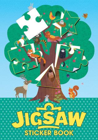 Jigsaw Sticker Book by