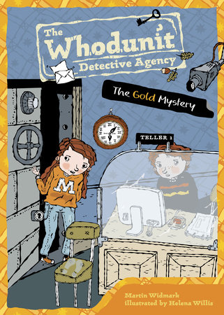 The Gold Mystery #8 by Martin Widmark; Illustrated by Helena Willis