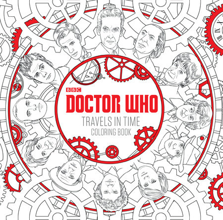Doctor Who Travels In Time Coloring Book By Price Stern Sloan