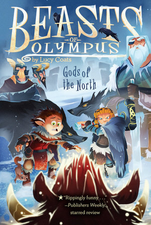 Gods of the North #7 by Lucy Coats; illustrated by Brett Bean