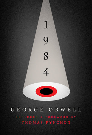 The cover of the book 1984