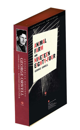Animal Farm and 1984 (Centennial Editions) boxed set by George Orwell