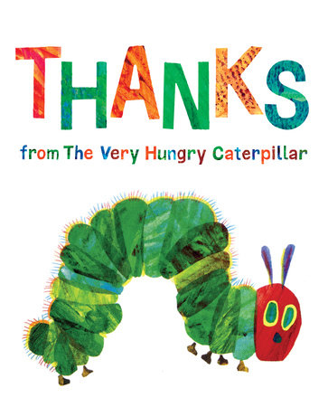 Image result for thanks from the very hungry caterpillar