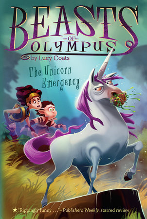 The Unicorn Emergency #8 by Lucy Coats; Illustrated by Brett Bean