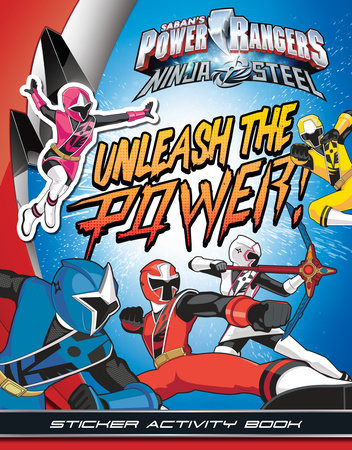Unleash the Power! Sticker Activity Book