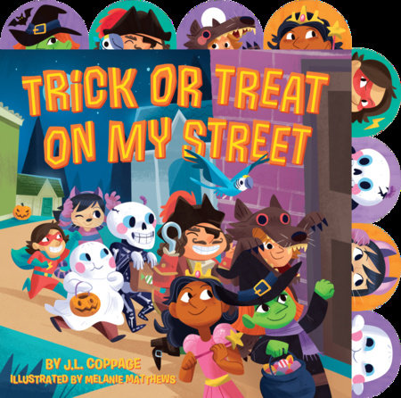 Trick or Treat on My Street by J. L. Coppage