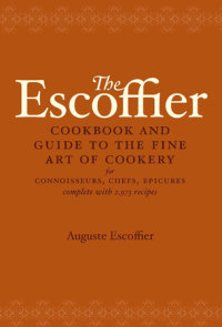 The Escoffier Cookbook