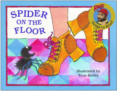 SPIDER ON THE FLOOR-GLB by Raffi