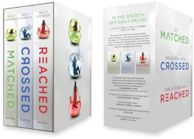 Reached by ally condie penguinrandomhouse matched trilogy box set fandeluxe Gallery