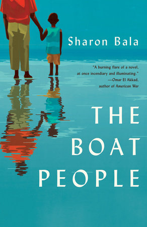 The cover of the book The Boat People
