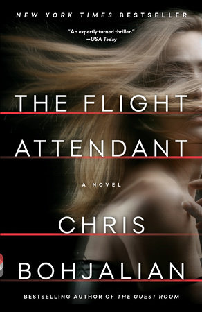 The cover of the book The Flight Attendant