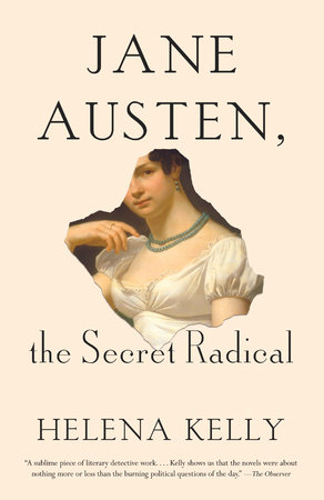 The cover of the book Jane Austen, the Secret Radical