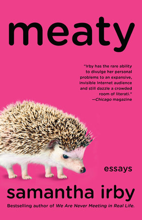 The cover of the book Meaty