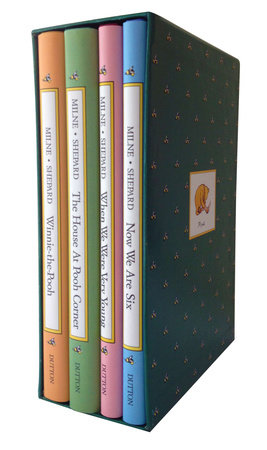 Pooh Library Original 4 Volume Set By A Milne