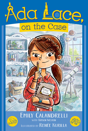 Ada Lace, On the Case cover