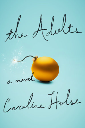 The cover of the book The Adults