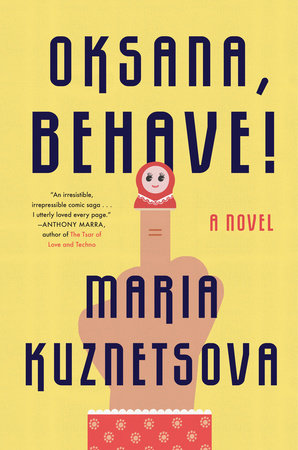 The cover of the book Oksana, Behave!