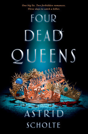 The cover of the book Four Dead Queens