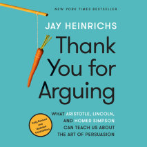 Thank You for Arguing, Third Edition Cover