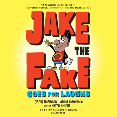 Jake the Fake Goes for Laughs cover