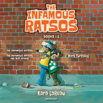 The Infamous Ratsos: Books 1-2 Cover