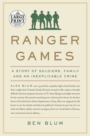 Ranger Games by Ben Blum