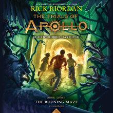 The Trials of Apollo, Book Three: The Burning Maze Cover