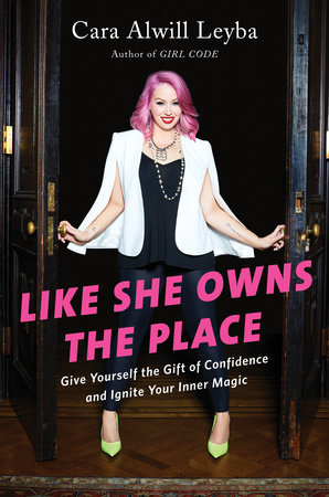 The cover of the book Like She Owns the Place