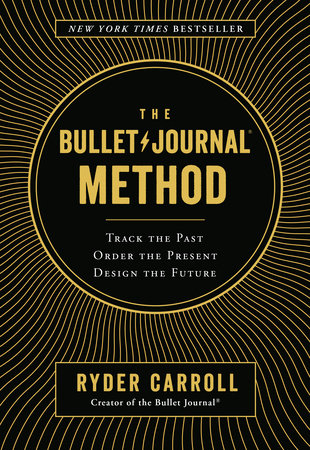 The cover of the book The Bullet Journal Method