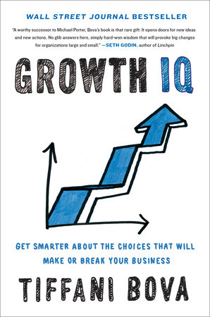 The cover of the book Growth IQ