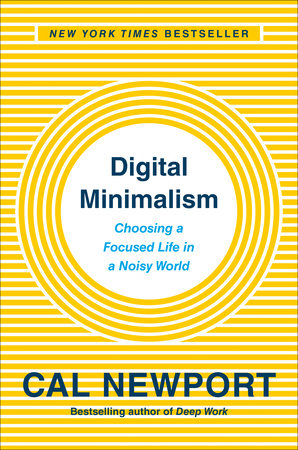 The cover of the book Digital Minimalism