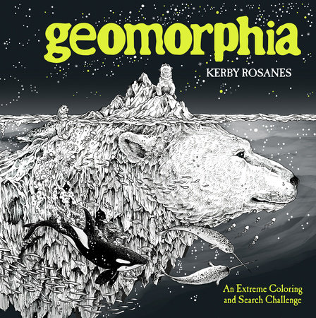 The cover of the book Geomorphia