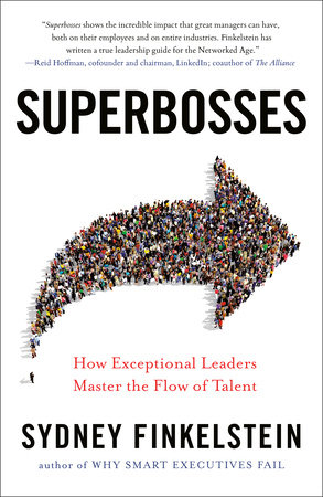 The cover of the book Superbosses