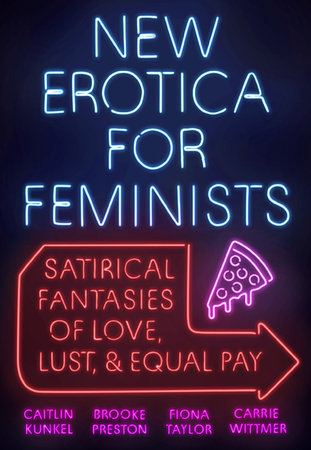 The cover of the book New Erotica for Feminists