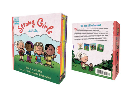Strong Girls Gift Set by Brad Meltzer; illustrated by Christopher Eliopoulos