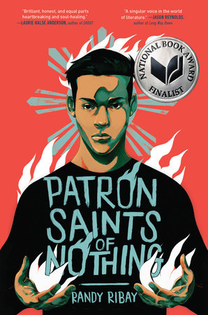 Cover art for the book entitled Patron Saints of Nothing