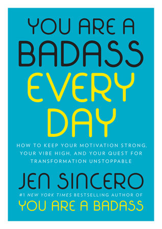 The cover of the book You Are a Badass Every Day