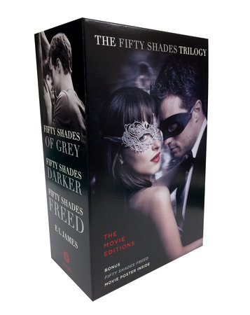 Fifty Shades Trilogy: The Movie Tie-In Editions with Bonus Poster by E L James