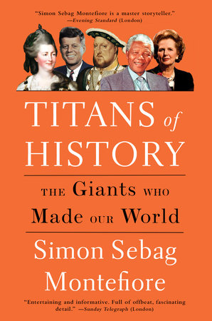 The cover of the book Titans of History